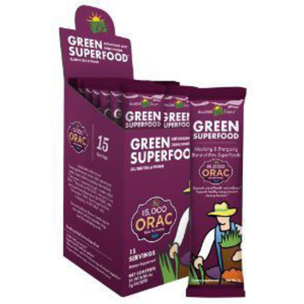 Amazing Grass Green Superfood Drink Powder Berry Packets