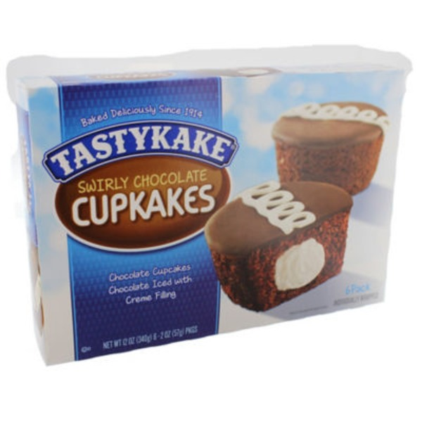 Tastykake Swirly Chocolate Cupkakes