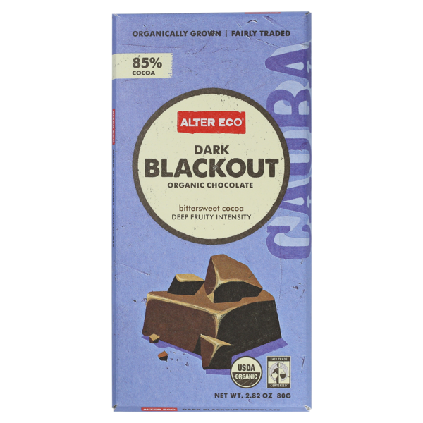 Alter Eco Dark Blackout Organic Chocolate