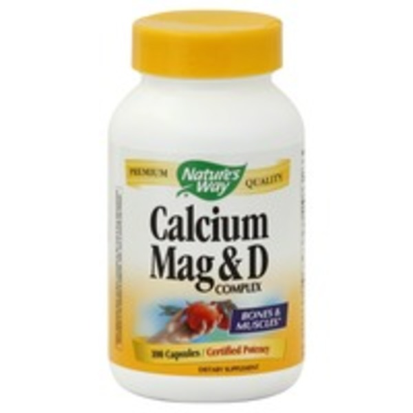 Nature's Way Calcium, Mag & D Complex Capsules