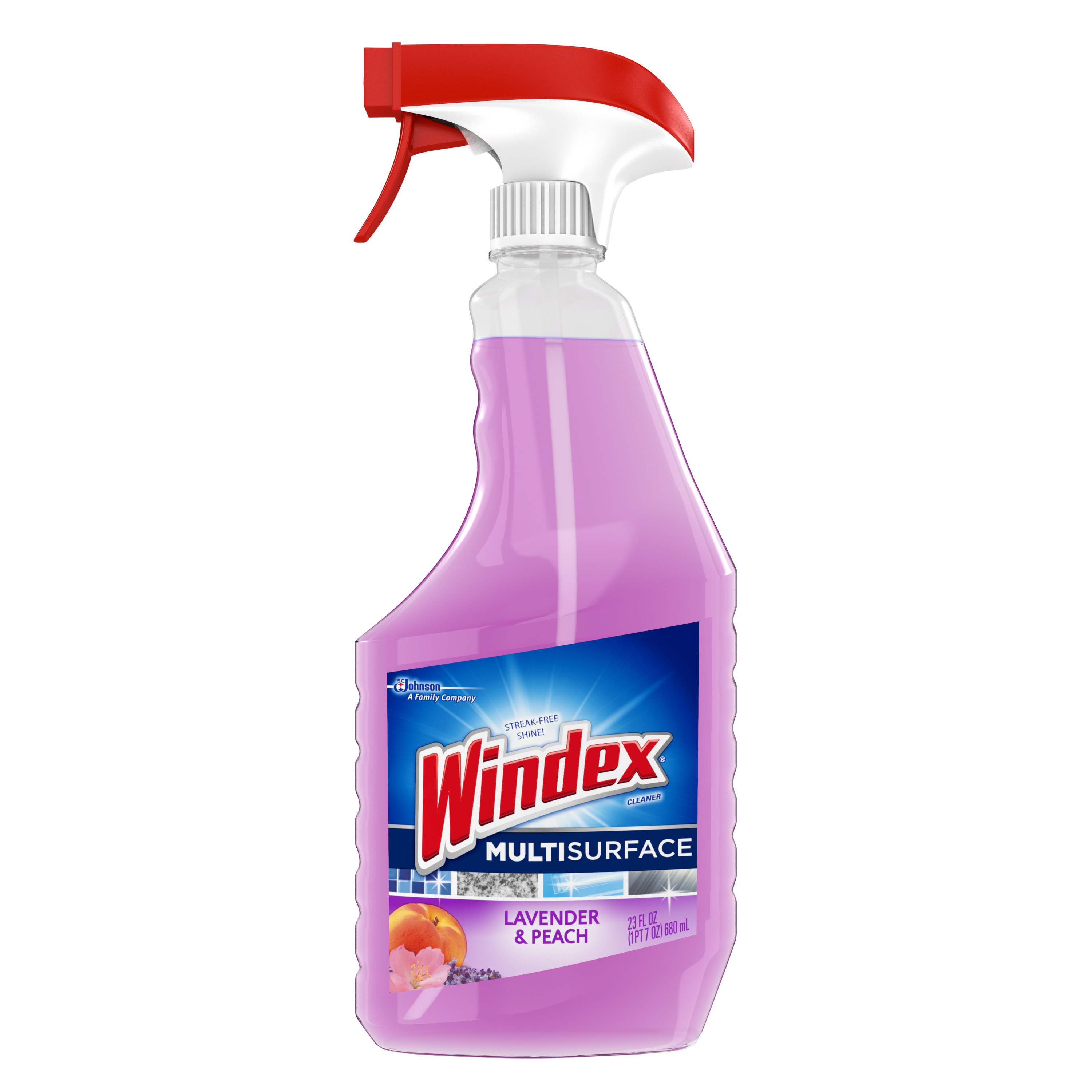 Windex Multi-Surface Cleaner With Glade Lavender and Peach Blossom
