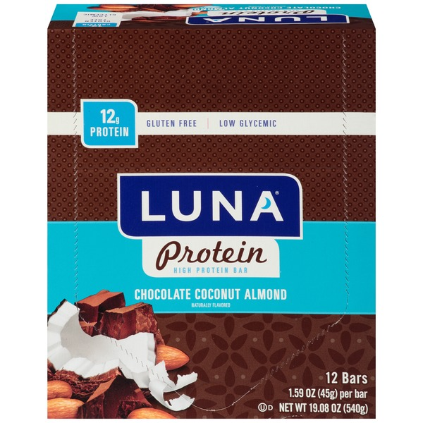 Luna Protein Chocolate Coconut Almond