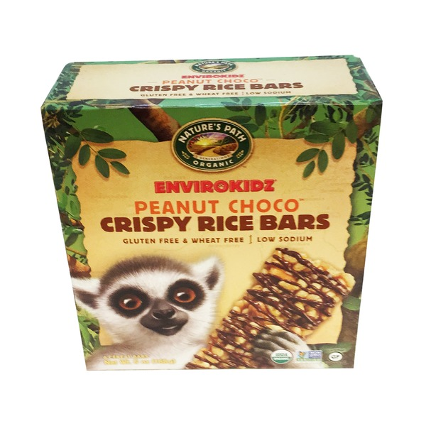 Nature's Path Organic Envirokidz Peanut Choco Crispy Rice Bars