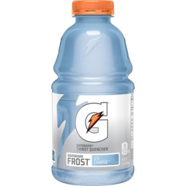 Gatorade Thirst Quencher Frost Icy Charge Sports Drink