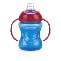 Nuby Grip N Sip Soft Spout Trainer Sippy Cup