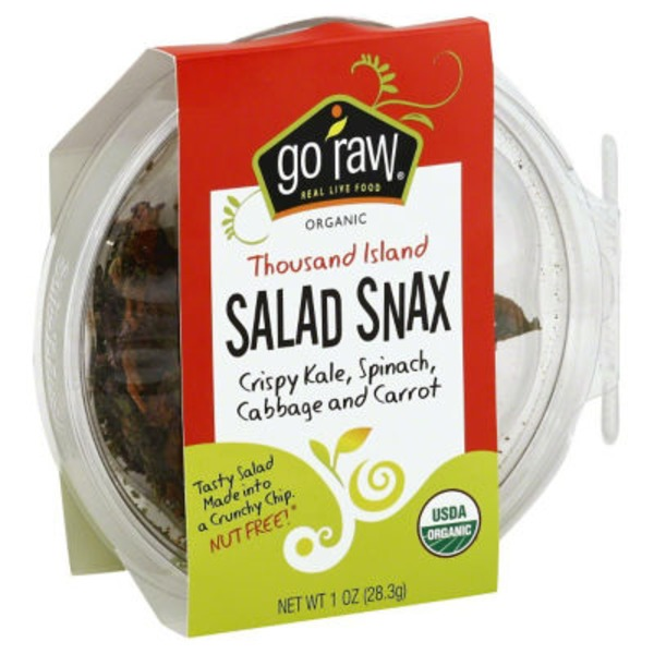 Go Raw Thousand Island Salad Snax