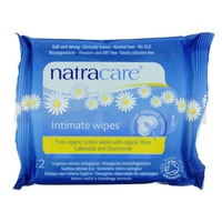 Natracare Wipes, Intimate