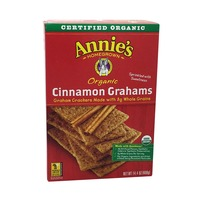 Annie's Homegrown Organic Cinnamon Graham Crackers Graham Crackers