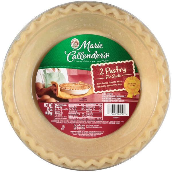 Marie Callender's Pastry Pie Shell