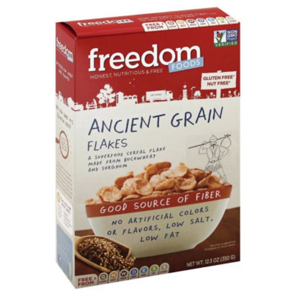 Freedom Foods Cereal, Ancient Grain Flakes