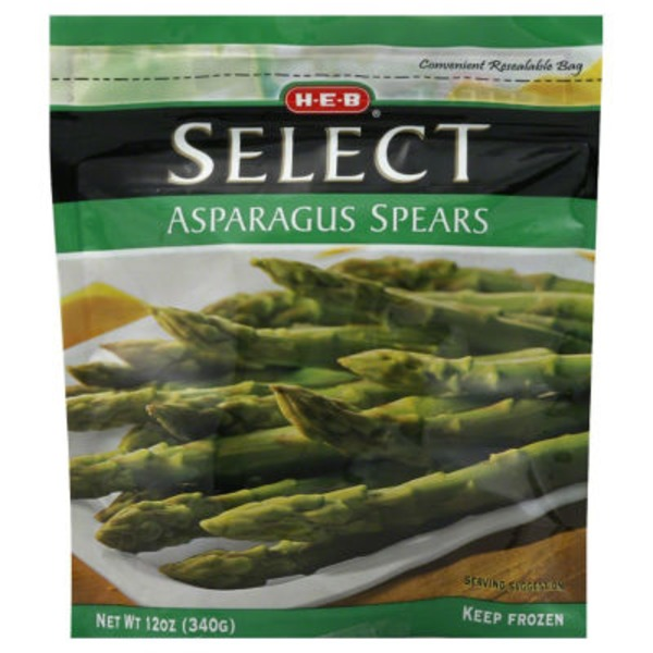 H-E-B Select Frozen Asparagus Spears