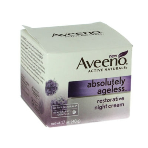 Aveeno® Absolutely Ageless™ Restorative Night Cream Facial Moisturizers