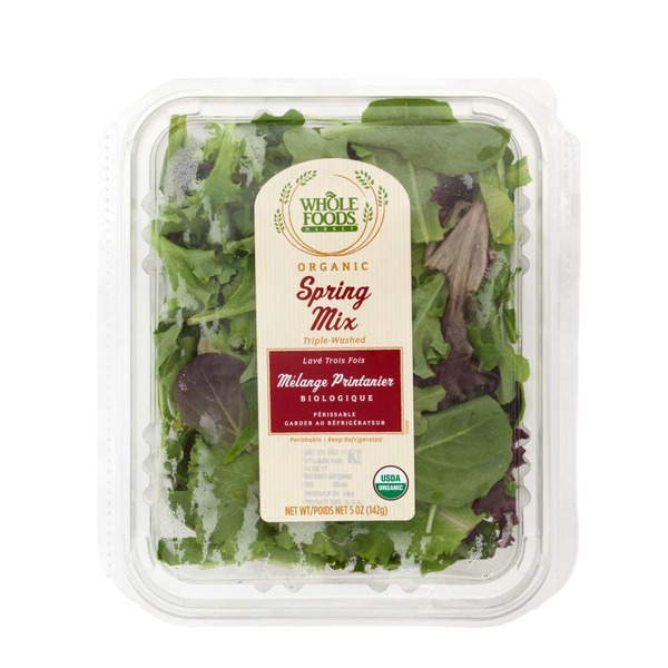 Whole Foods Market Organic Spring Mix