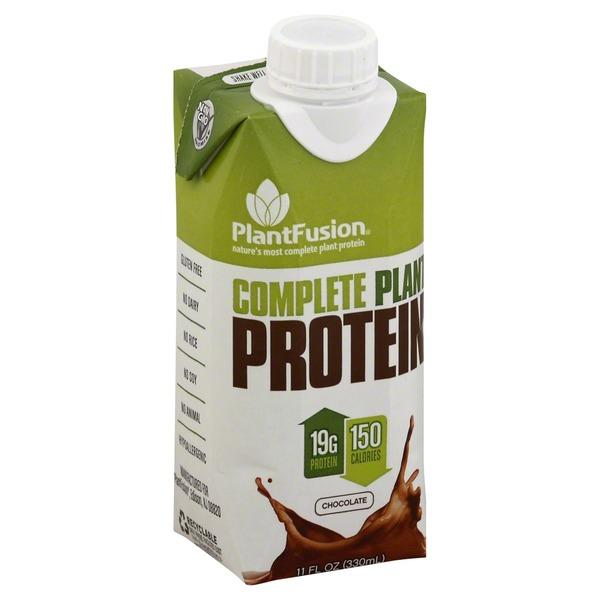 PlantFusion Plant Protein, Complete, Chocolate