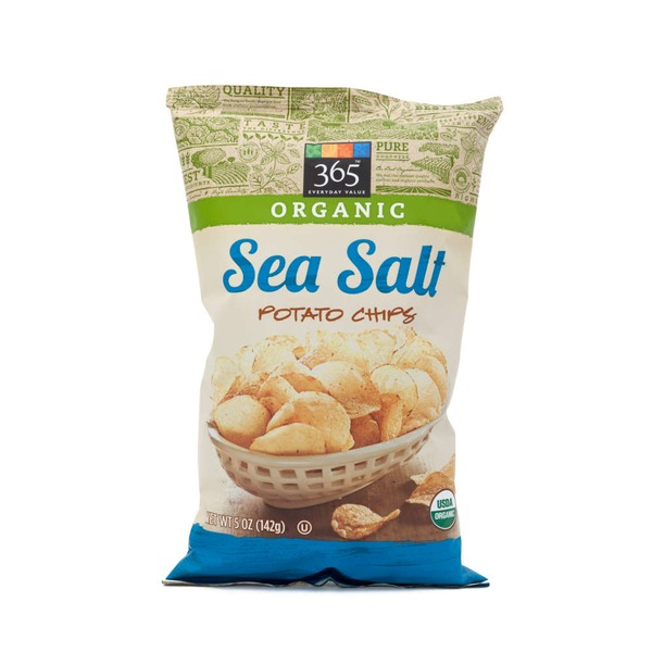 365 Sea Salt Potato Chips
