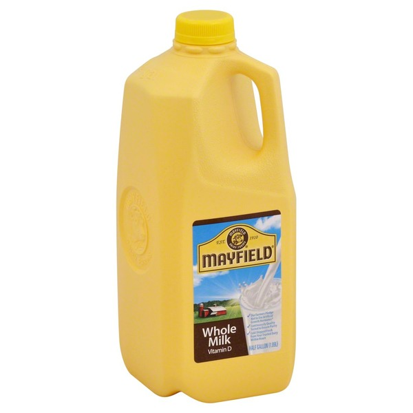 Mayfield Whole Milk, Vitamin D, Jug