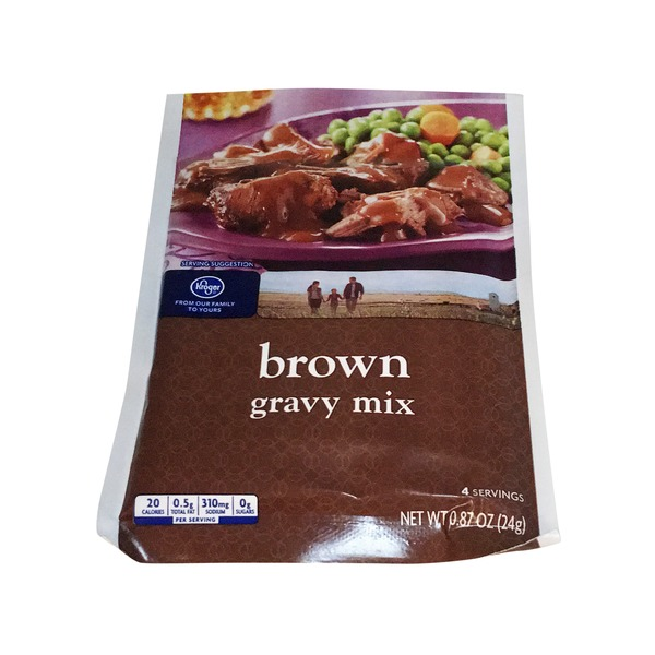 Kroger Brown Gravy Mix