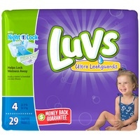 Luvs Diapers, Size 4