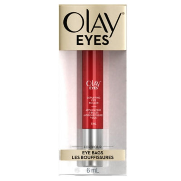 Olay Eyes Olay Eyes Eye Depuffing Roller for bags under eyes, 6 mL Female Skin Care
