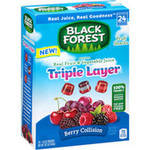 Black Forest Triple Layer Fruit Collision Fruit Snacks