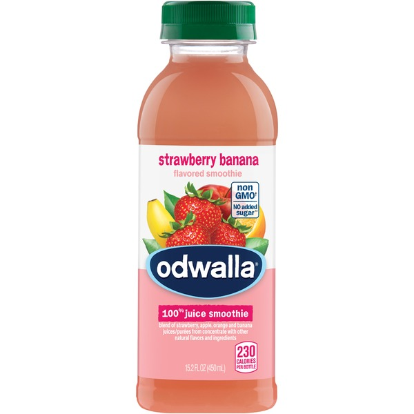 Odwalla Strawberry Banana 100% Juice Smoothie