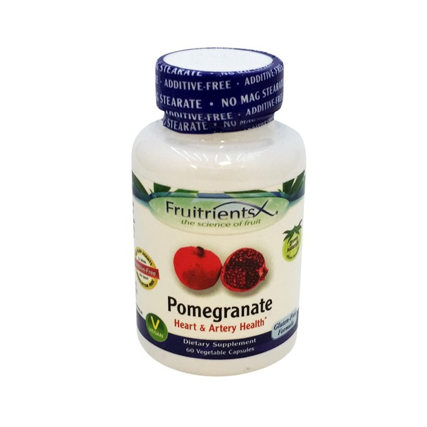 FruitrientsX Pomegranate Heart & Artery Health Vegetable Capsules