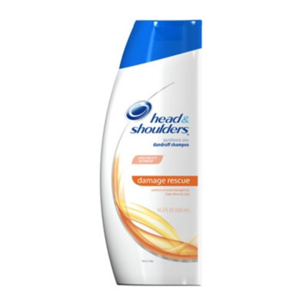 Head & Shoulders Damage Rescue Head and Shoulders Damage Rescue Dandruff Shampoo 13.5 Fl Oz Female Hair Care