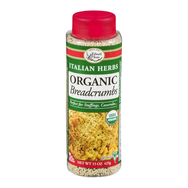 Edward & Sons Organic Breadcrumbs Italian Herbs