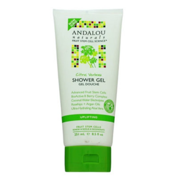 Andalou Naturals Uplifting Citrus Verbena Shower Gel