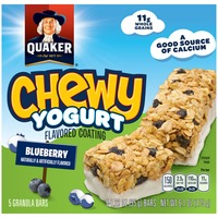 Quaker Chewy Yogurt Blueberry Granola Bars
