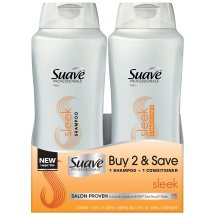 Suave Sleek Shampoo/Conditioner,