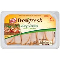 Oscar Mayer Deli Fresh Shaved Honey Smoked Turkey Breast
