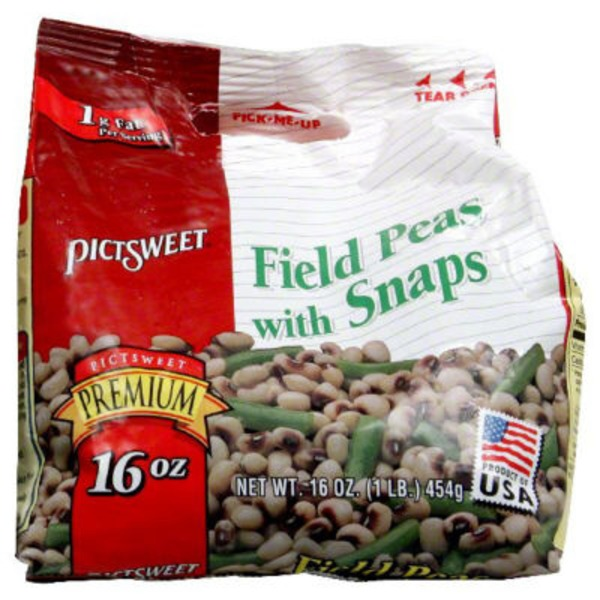 Southern Classics with Snaps Field Peas