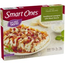 Smart Ones® Savory Italian Recipes Traditional Lasagna with Meat Sauce 10.5 oz. Box