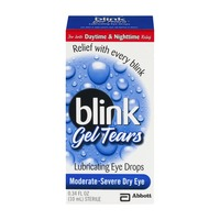 Blink Gel Tears Lubricating Eye Drops Moderate-Severe Dry Eye
