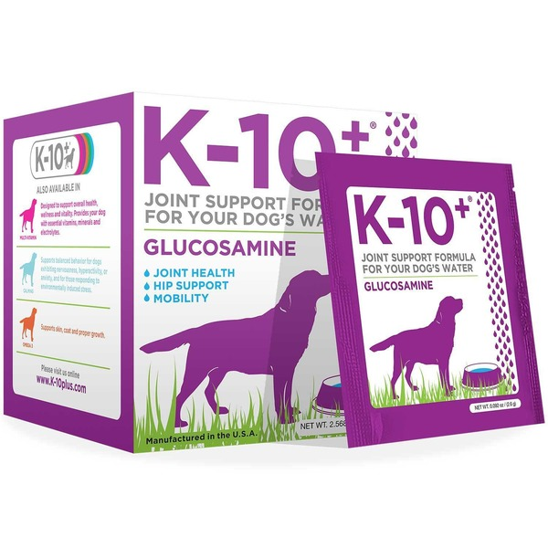 K 10 Plus Glucosamine Dog Supplement