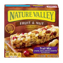 Nature Valley Chewy Granola Bar, Trail Mix, Fruit and Nut, 6 Bars - 1.2 oz, 1.2 OZ