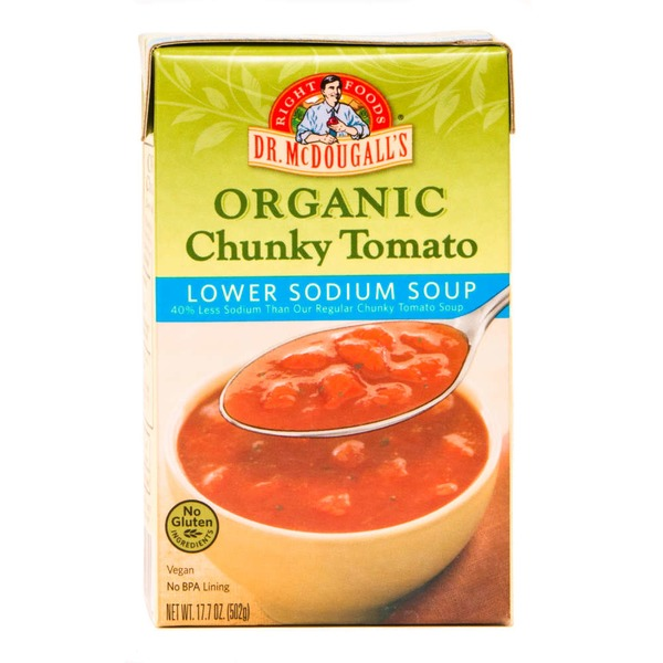 Dr. McDougall's Organic Tomato Lower Sodium Soup