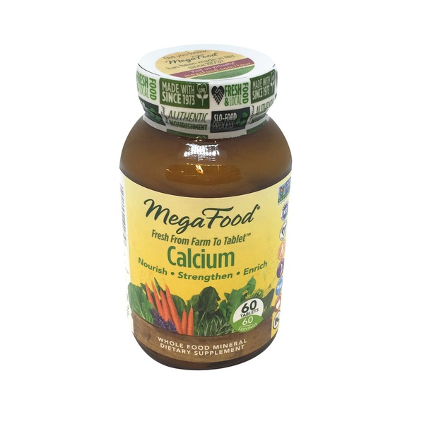 MegaFood Calcium Tablets