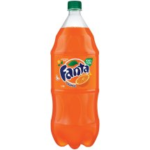 Fanta Soda, Orange, 2 L, 1 Count
