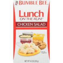 Bumble Bee Lunch on the Run! Chicken Salad with Crackers, 8.1oz kit