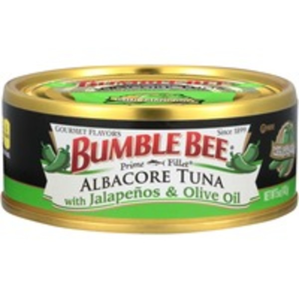 Bumble Bee Gourmet Albacore with Jalapenos & Olive Oil Tuna