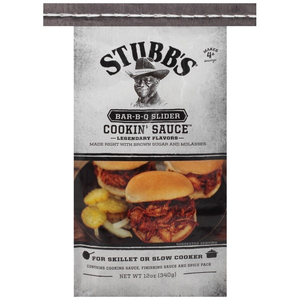 Stubb's Bar-B-Q Slider Cooking Sauce
