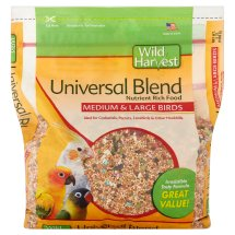 Wild Harvest Universal Blend Premium Medium and Large Birds Seed, 3 lb