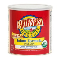 Earth's Best Organic Infant Formula Powder With Iron