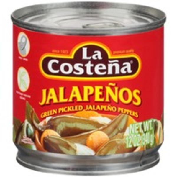 La Costeña Green Pickled Sliced Jalapeno Peppers