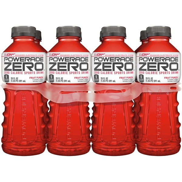 Powerade Zero ION4 Fruit Punch Sports Drink