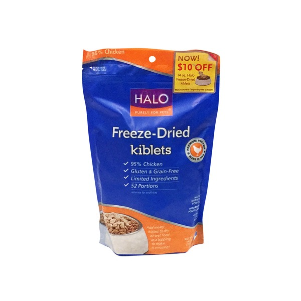 Hal Dog Frozen Dried Chicken