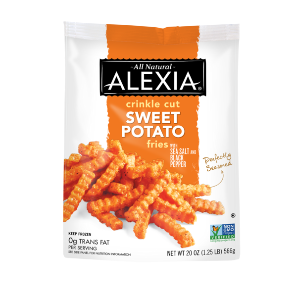 Alexia All Natural Sea Salt & Pepper Crinkle Cut Sweet Potato