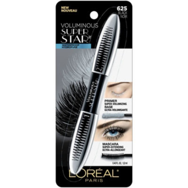 Voluminous 625 Black WTP Superstar Mascara
